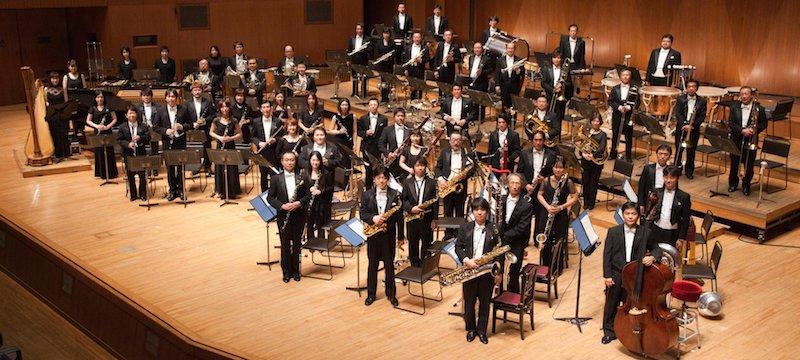 Uematsu signe Yôsei no mori, pour orchestre d'harmonie (arr. Narita)