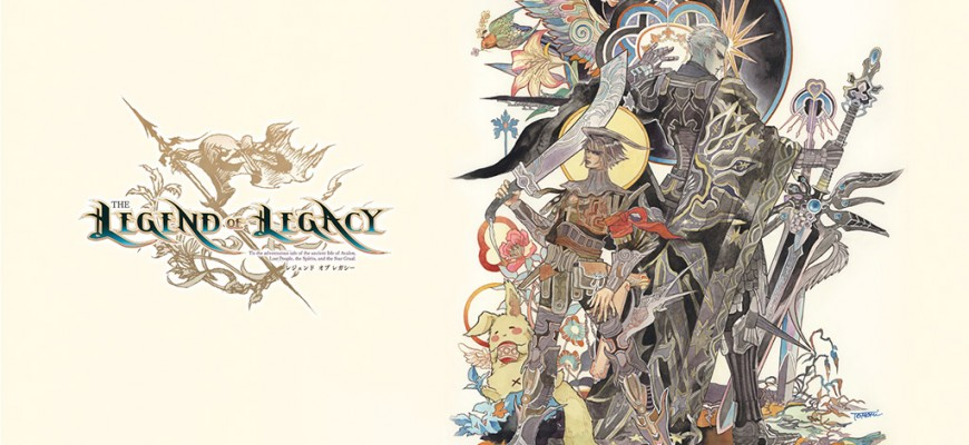 La BO de « The Legend of Legacy » (Masashi Hamauzu) disponible chez Wayô