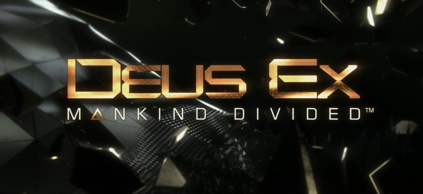 Un trio de compositeurs pour Deus Ex: Mankind Divided