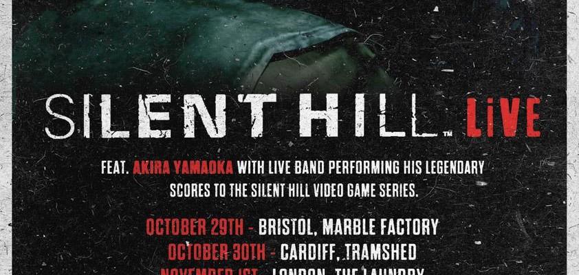 Akira Yamaoka en tournée Silent Hill au Royaume-Uni